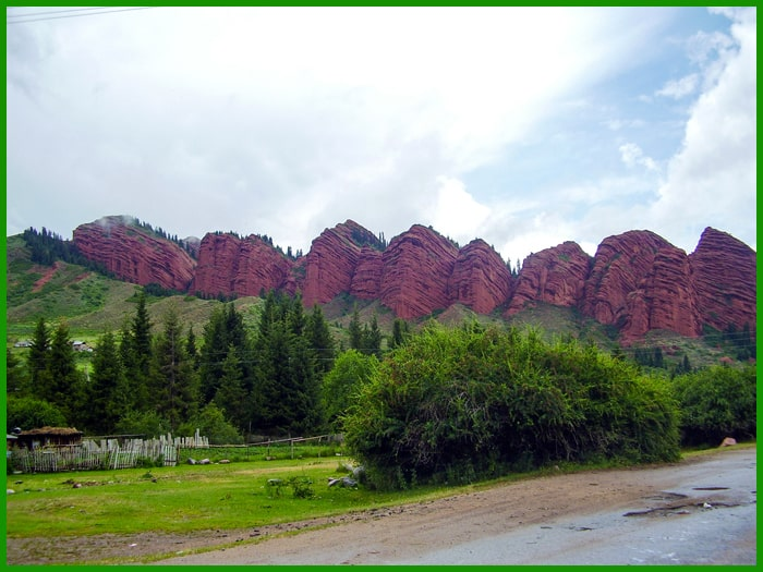 Celestial Mountains, Kyrgyzstan tours.